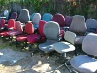 Used Office chairs Desk chairs Please call Alex @  Pick