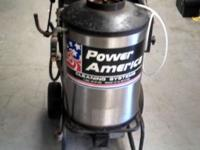 USED POWER AMERICA 1304 HOT WATER PRESSURE WASHER 2.2