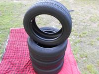 I have a set of 4- Hankook optimo H418 tires for sale.