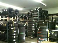 We have a few thousand used and retreaded tires on