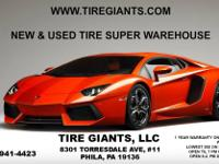 TIRE GIANTS  NEW & USED TIRE SUPER WAREHOUSE!!  8301