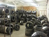 Quality used tires ranging for spare's all the way up