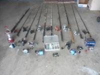 I have some rod & reel combos for sale... various