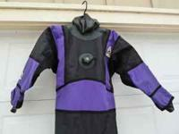 We are selling my USIA SCUBA dry suit. I bought it as I