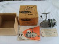 For Sale one very rare vintage Uslan spinning reel