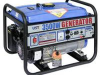 UST 3500 W Gasoline Generator - NEW New in the Original