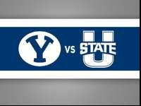 I have some Utah State vs. BYU Basketball game tickets