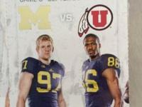 4 tickets forUtah utes vs Michigan wolverinesSection