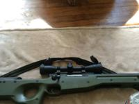 I have a airsoft sniper rifle that I purchased