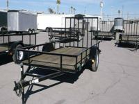 Great cash deal on this new trailer. 6 4 X12' Utility