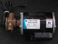 For Sale is a Jabsco utility pump Model# 6050-0003 NEW