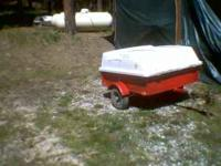 verry good uyility trailer for quad or garden tractor