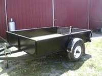 "Newly built, 8'x 5'8"" deck. $1095.00"