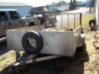 This trailer can be used for a wide variety of things -