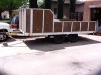 Utility trailer 19x7 Clear title Call or Text  //