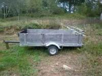 4x8 utility trailer with 1 7/8 ball have lights but not