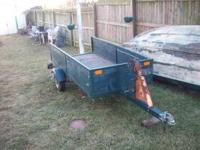 Utility trailer 4 x 6 ft. , Nice and spacious. New