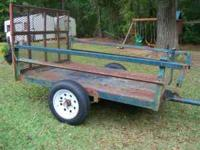 I have for sale a 4X6 utility trailer. It has brand new