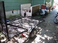 2 wheel Utility Trailer for sale. Great condition.
