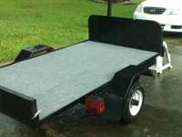 Like New............4 x 6 Utility Trailer Complete