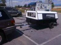 4 x 8 custom made utility trailer in very good