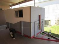 a 4 x 8 utility trailer ,used very little ,very good