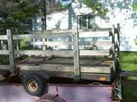 Utility trailer in good shape, good lights and tires.