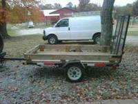 4x8 utility trailer no emails please you can call me or