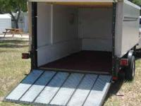 7' x 12' Enclosed utility trailer, used to haul 3