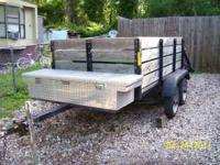 Homemade utility trailer 4'x8' very rare coil