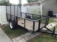 Like new only 6 mo old with removable tail gate cargo