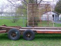 I am selling a utility trailer for 800.00 it can haul