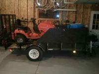 I am selling my 5x10 utility trailer. I have used this