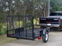 2010 Utility Trailer 5 x 10. Like new condition. Bought