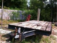 Mobile home frame. Heavy duty. Pulls great. Ideal for