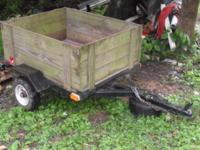 Up for sale I have one 4 ft. X 3 ft. energy trailer.