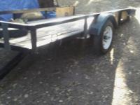 5X9 metal frame. Tilt utility. Trailer ..tailgate