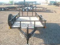 Single axle utility trailer, quad trailer, dirt bike
