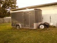 2002 U.S. Cargo Trailer for sale Trailer is a 6' X 12'