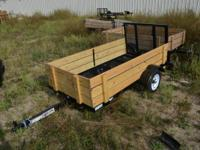 We are selling our Factory Second Trailers from this