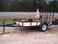 6 X 12 ** HEAVY DUTY UTILITY TRAILER 3500LB DEXTER AXLE