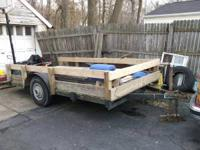 im selling my utility trailer its 5x12 and its got all