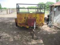 Utility Trailer with Tommy lift, Please call  Location: