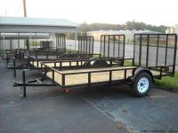 single axle utility trailer 5X10ft  $1125.00