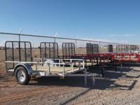 We have all different types of trailers, Dumps,