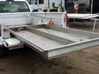 Work truck bed hard cover aluminum with access doors,