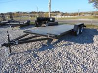 New _ 7x18 STK # 4011 _____ trailer for sale with