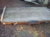 Great Condition Utility Trailer (4X8). Missing hub and