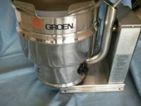 GROEN POT FRESH 10 QUART ... $3911.50 NEW SO AT $750