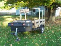 I have a well built homemade utility trailer for sale.
